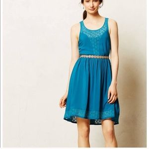 """Lilka"" deep teal baby doll dress"